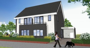 2-onder-1-kapwoning Plan Leesten_Oost Zutphen